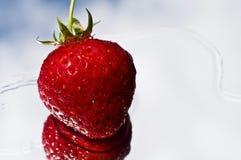 Strawberry close up Royalty Free Stock Photos