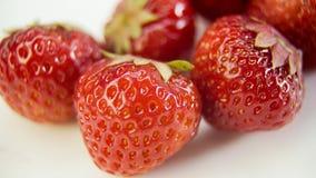 Strawberry close-up plan Stock Photo