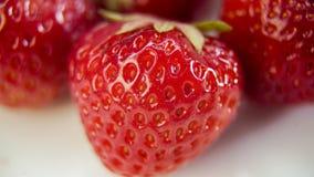 Strawberry close-up plan Stock Image