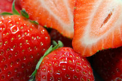 Strawberry closeup Royalty Free Stock Photo