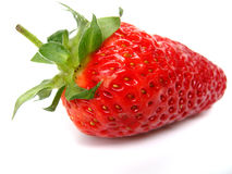 Strawberry closeup Royalty Free Stock Image