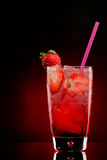 Strawberry cocktail Stock Photos