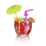 Strawberry cocktail Stock Photos