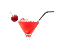 Strawberry cocktail Royalty Free Stock Photography