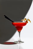 Strawberry cocktail with physalis Royalty Free Stock Images