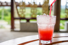 Strawberry cocktail Stock Photography