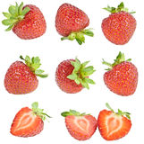 Strawberry collage Royalty Free Stock Photo