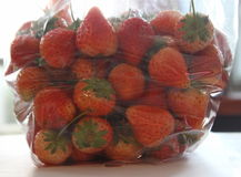 Strawberry. Colorful is strawberry look  beautiful Royalty Free Stock Photography
