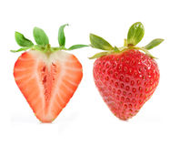 Strawberry composition Royalty Free Stock Images
