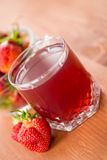 Strawberry Compote Stock Photo