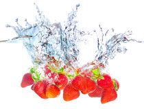 Strawberry concept Royalty Free Stock Photo