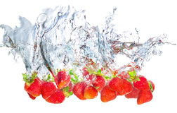Strawberry concept Stock Image