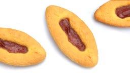Strawberry cookies Stock Photo