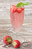 Strawberry Cooler Stock Photo
