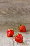 Strawberry, copy space Stock Image