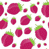 Strawberry, cream abstract hypnotic background. Stock Photo