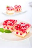 Strawberry cream cake Royalty Free Stock Photo