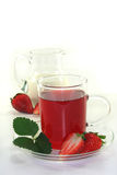 Strawberry cream tea Stock Images