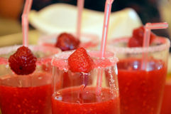 Strawberry crush Royalty Free Stock Images