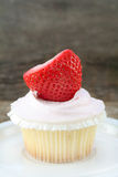 Strawberry Cupcake Royalty Free Stock Photo