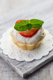Strawberry cupcake Royalty Free Stock Images