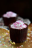 Strawberry Cupcakes Royalty Free Stock Images