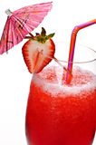 Strawberry daiquiri stock photos