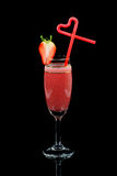 Strawberry Daiquiri Stock Images
