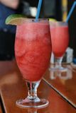 Strawberry daiquiri Royalty Free Stock Photography