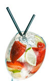Strawberry daiquiri Royalty Free Stock Images