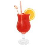 Strawberry Daiquiri Cocktail Stock Image