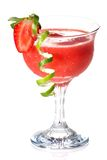 Strawberry Daiquiri - Most popular cocktails serie Stock Photos
