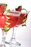 Strawberry Daiquiri - Most popular cocktails serie royalty free stock images