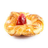 Strawberry danish Stock Image