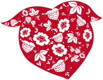 Strawberry decor Stock Image