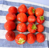 Strawberry. Delicious and nutrition-rich red colored strawberries are among the most popular berries Stock Photos