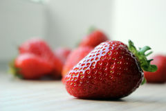 Strawberry. Delicious strawberry is a symbol of summer Stock Images