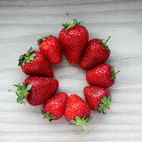 Strawberry. Delicious strawberry is a symbol of summer Royalty Free Stock Photos