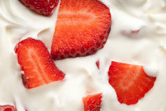 Strawberry delight Stock Images
