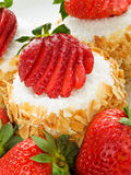 Strawberry dessert Royalty Free Stock Photo