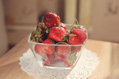 Strawberry dessert Stock Image