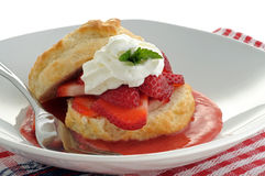 Strawberry Dessert Royalty Free Stock Photos