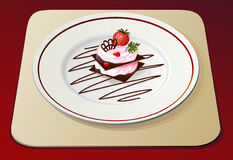 Strawberry dessert no.2 Stock Photo