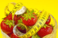 Strawberry diet Royalty Free Stock Photo