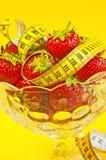 Strawberry diet Stock Image