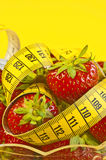 Strawberry diet Royalty Free Stock Photography