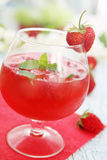 Strawberry drink Royalty Free Stock Images