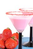 Strawberry Drinks Stock Photography