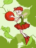 Strawberry Fairy Royalty Free Stock Photo
