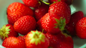 Strawberry  falls stock footage